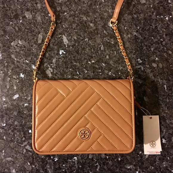 90f1be76009 Tory Burch Alexa Combo Leather Cross Body Bag